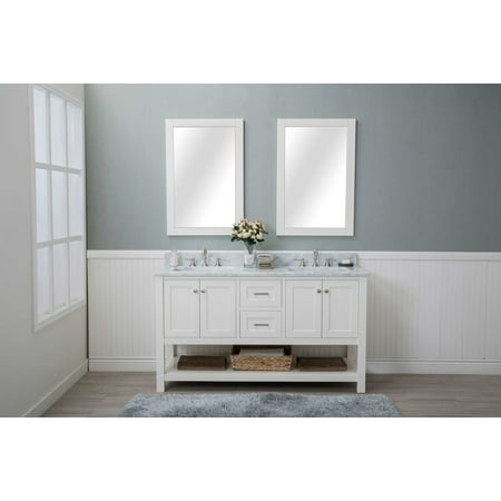 Luxury 48 Inch Carrara Marble Vanity Top
