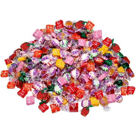Assorted Starbust & Brach's 8.75 Lb Bulk Soft Chewy & Hard Candy Mix Value Pack 700 Pcs (140 oz) (Mixels Vulk)