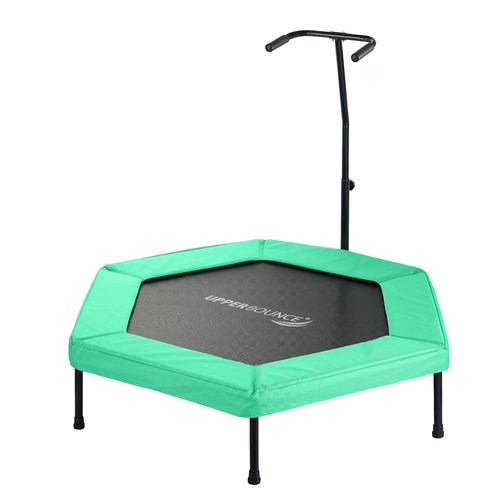 Upper Bounce 50'' Hexagonal Fitness Mini Trampoline