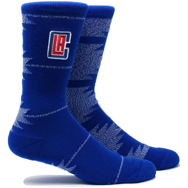 LA Clippers Geo Crew Socks - L
