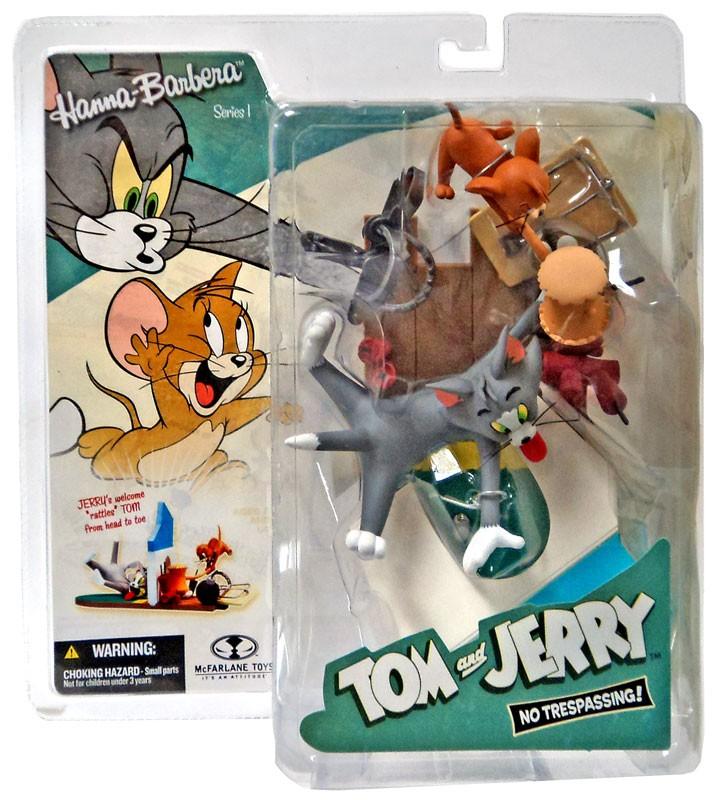 Mcfarlane Hanna-Barbera Series 1 Tom & Jerry No Trespassi...
