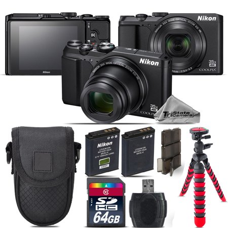 A900 Camera (Nikon Coolpix A900 Point and Shoot Digital Camera - Black - Kit)
