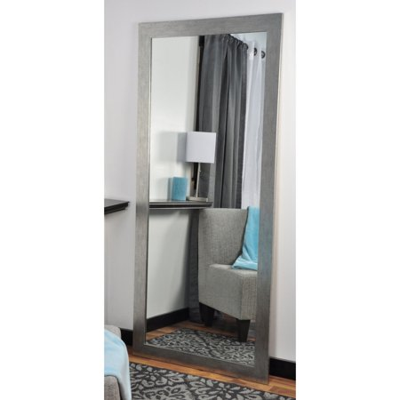BrandtWorks Organic Silver Tall Vanity Floor Mirror - 32W x 65.5H in. ()