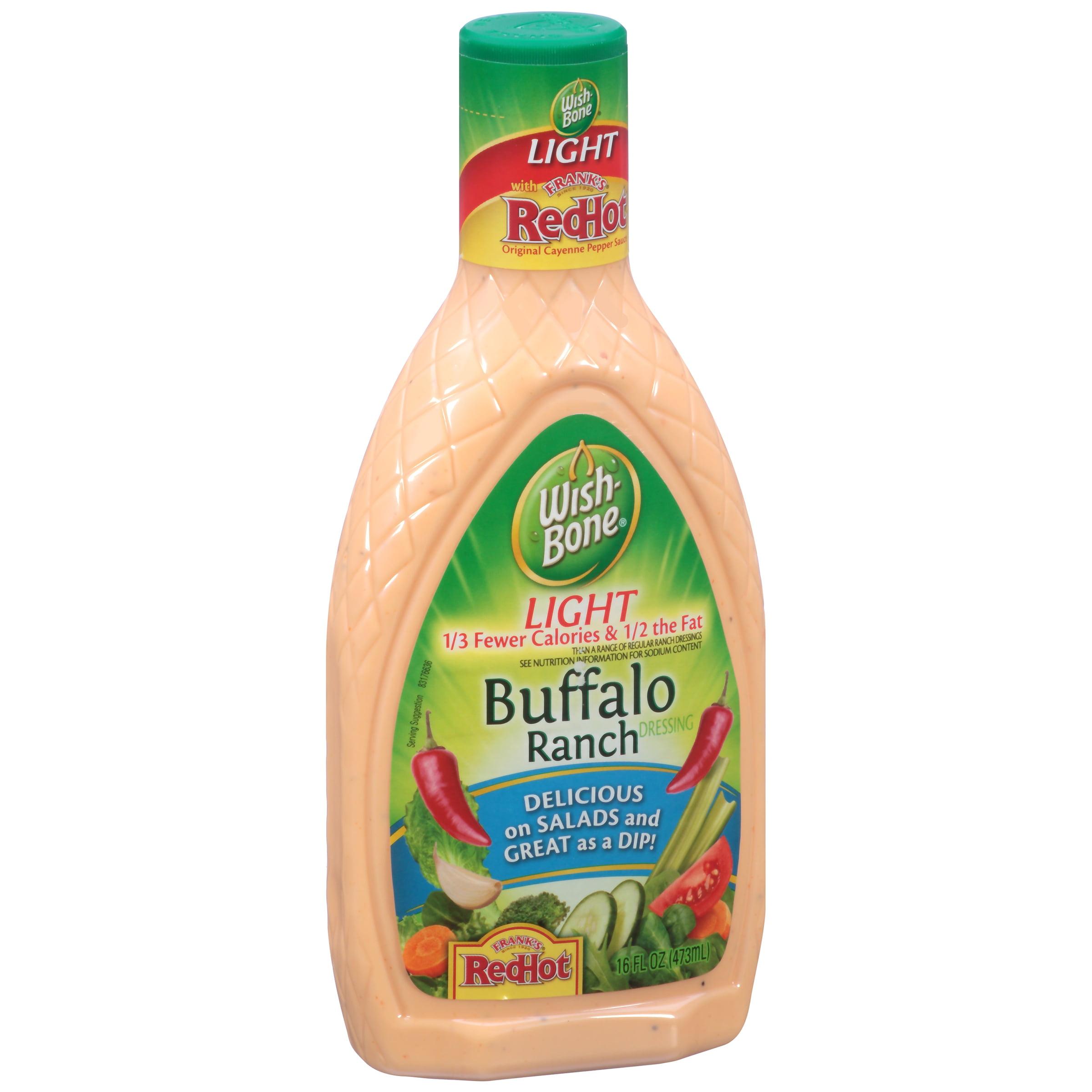 Wish-Bone Light Buffalo Ranch Salad Dressing, 16 fl oz