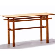 Greenington Lotus Console Table in Classic Bamboo