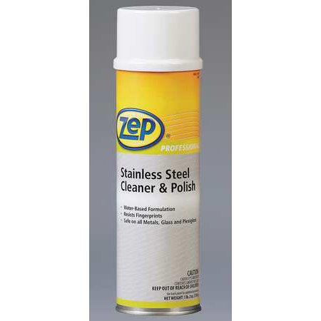 Zep Professional 1040343 Cleaner And Polish Aerosol Can