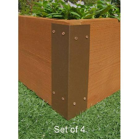 Raised Garden Bed Corner Brackets - For 12