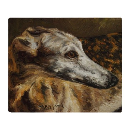 - CafePress - Greyhound - Soft Fleece Throw Blanket, 50