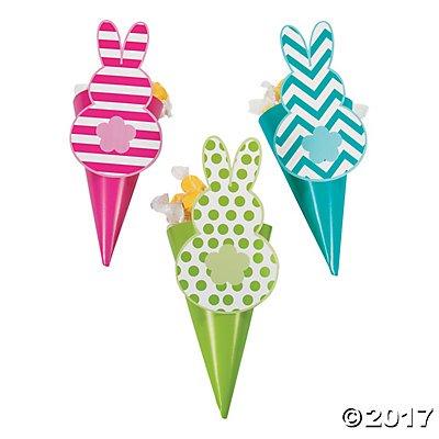 Easter Snack Favor Cones (Snack Cones)
