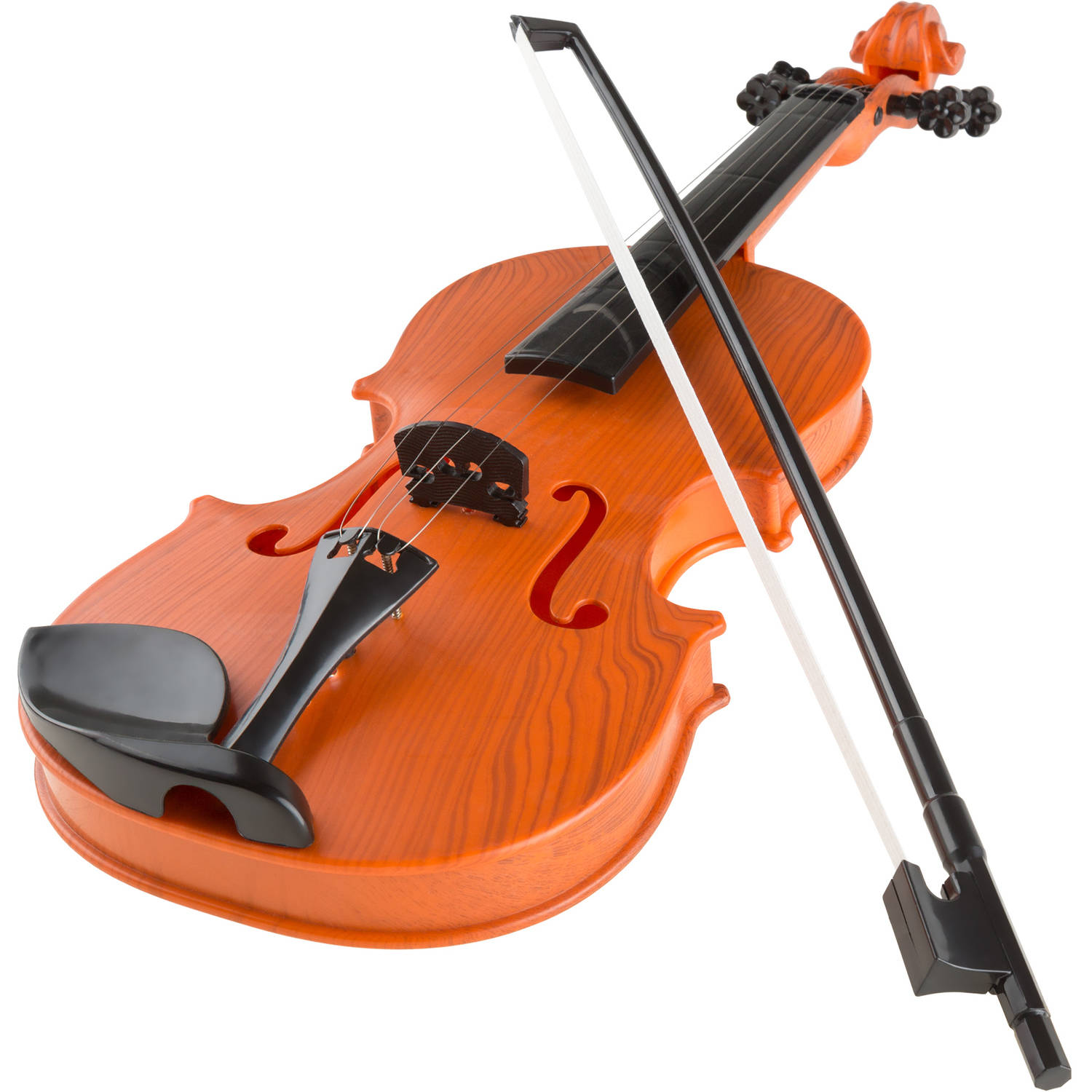 Musical Toy Violin with Bow by Hey! Play! - Battery-operated