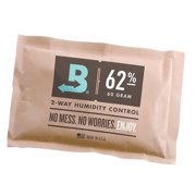 Boveda BV62187 67g 62 Percent RH Long Lasting 2 Way Herbal Humidity Control Pack Protecting Up to 1 Pound