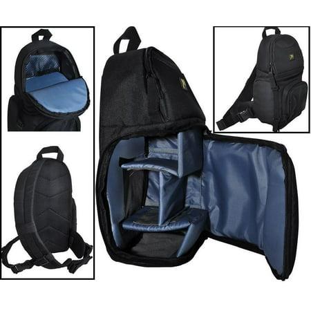 Deluxe Shoulder Camera Bag Sling Style For Nikon D3300 D5300 D5500 D3400 D5600