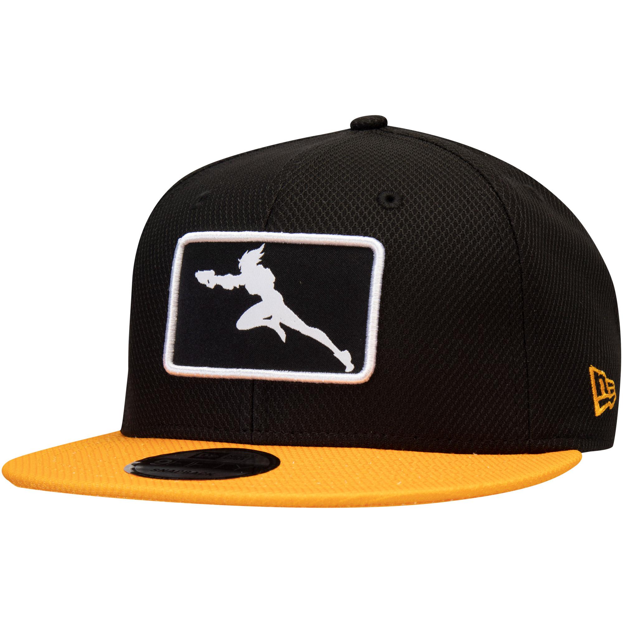 Overwatch League New Era Franchise Logo Snapback Hat - Black/Yellow - OSFA
