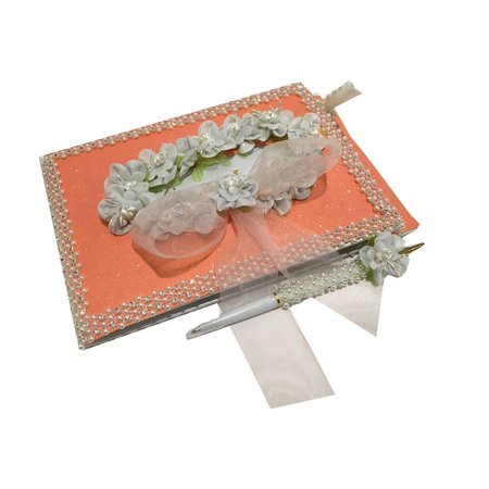 Allure Bridals Quinceanera (All Occasion Coral Guest Book For A Sweet 16, Quinceanera, Wedding Bridal Signature Memory)