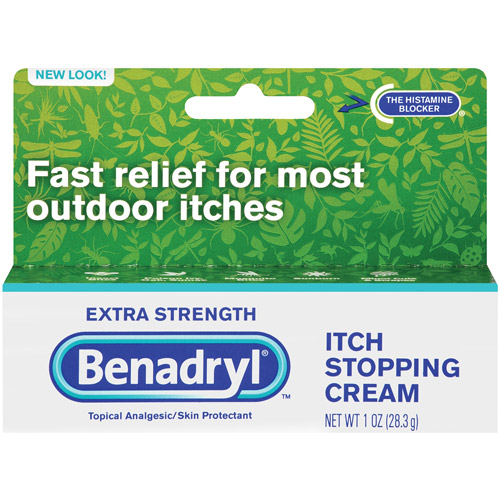 Benadryl Extra Strength Itch Stopping Cream, 1 oz