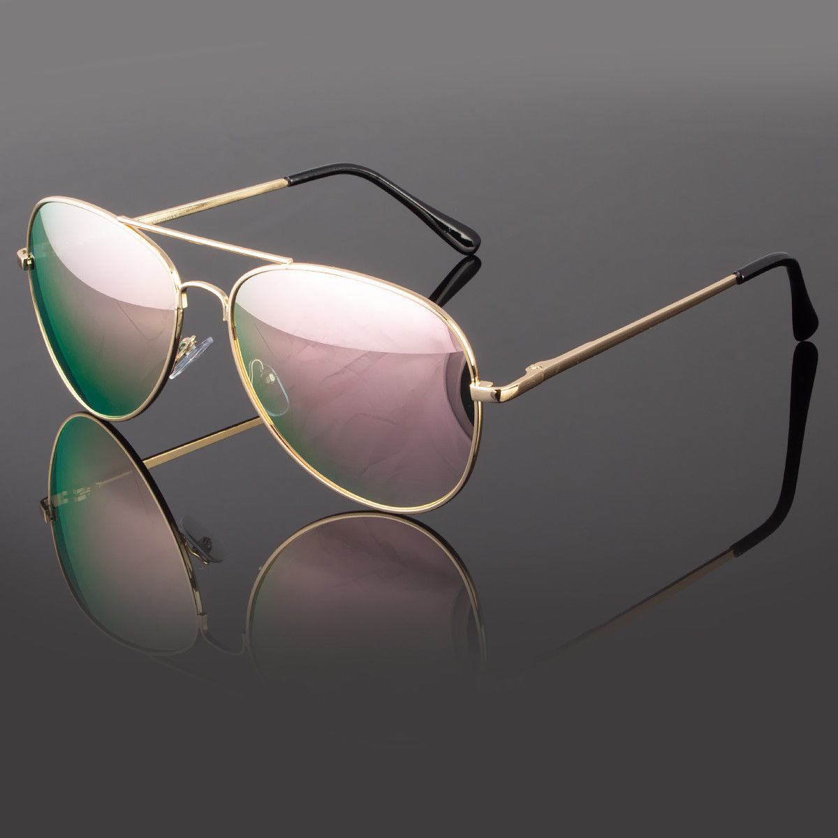32e0aa0e2 Mens Women Retro Vintage Classic Mirror Lens Fashion Designer Aviator  Sunglasses