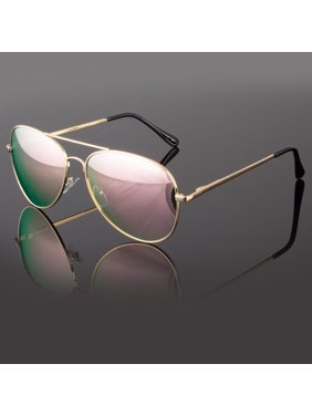 07cf6838708 Product Image Mens Women Retro Vintage Classic Mirror Lens Fashion Designer  Aviator Sunglasses