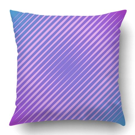 BOSDECO Minimal Cover With Geometric Waves And Gradients Trendy Pillowcase Pillow Cushion Cover 16x16 inch - image 1 of 1