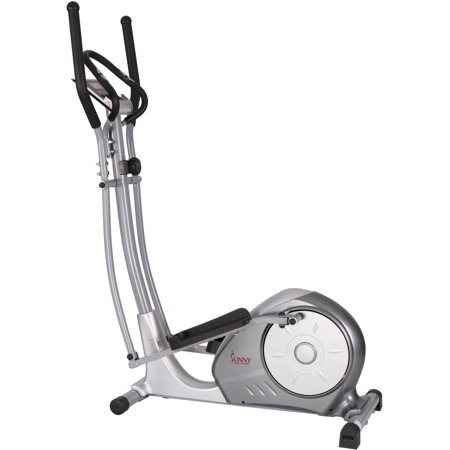 Sunny Health & Fitness SF-E3608 Magnetic Elliptical Bike Elliptical Machine w/ Tablet Holder, LCD Monitor and Heart Rate