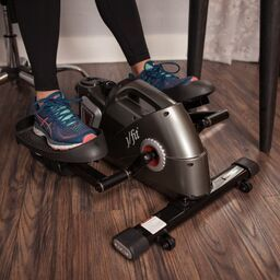 Under Desk or Standing Mini Elliptical - PEWTER