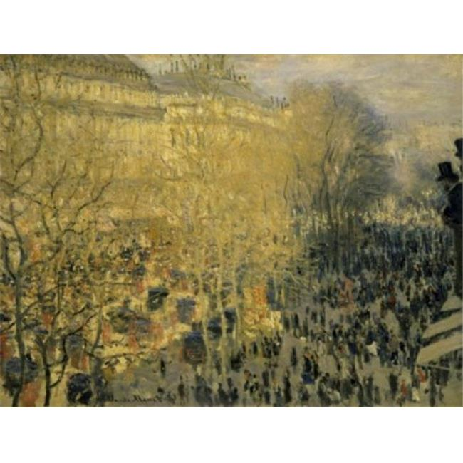 Posterazzi SAL261266 Boulevard Des Capucines 1873 Claude Monet 1840-1926 French Oil on Canvas Pushkin Museum of Fine Arts Moscow - 18 x 24 in. - image 1 de 1