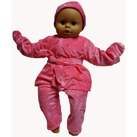 Baby Doll Clothes At Walmart Gorgeous Fits Big Baby Doll And Reborn Baby Dolls Pink Fleece Winter Clothes