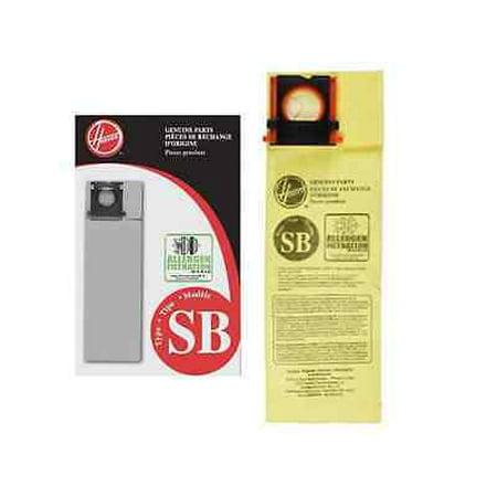 Genuine Hoover Style SB Micro Allergen Vacuum Bags Type AH10170 Insight Vac OEM [3 Loose
