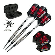 Viper Pitbull 90% Tungsten Soft Tip Darts Diamond Cut and Ringed Barrel 18 Grams