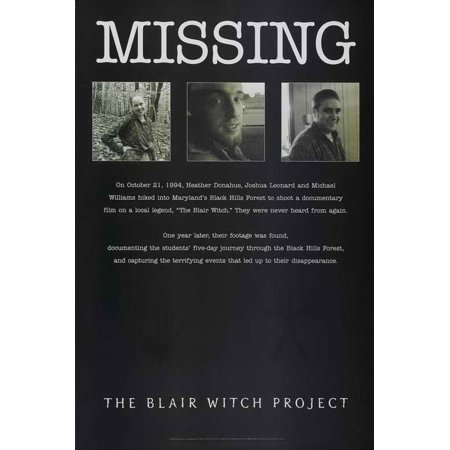 - The Blair Witch Project POSTER Movie D Mini Promo