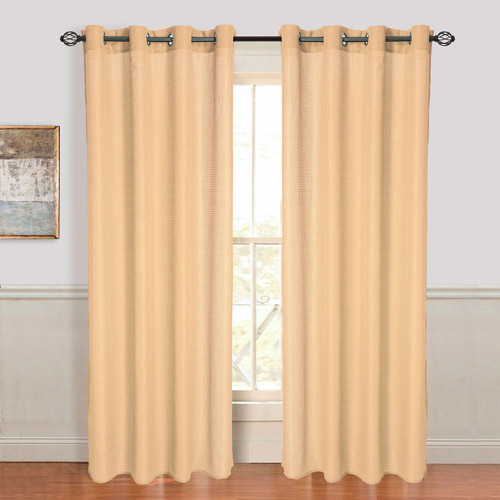 Somerset Home Olivia Jacquard Grommet Curtain Panel