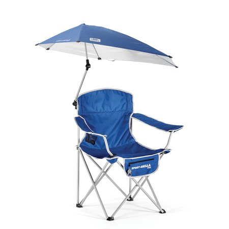 Fine Sport Brella Folding Chair With Detachable Umbrella Blue Gmtry Best Dining Table And Chair Ideas Images Gmtryco