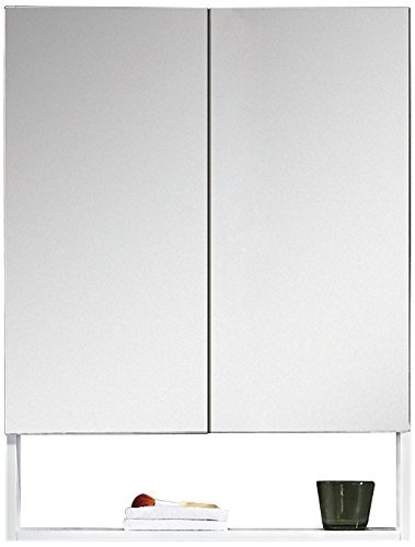 Fine Fixtures GRM24WH Greenpoint Medicine Cabinet, 24\ by Fine Fixtures