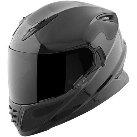 16 Solid Full Face (SPEED AND STRENGTH SS1600 Solid Full Face Helmet Black XL  871443 )