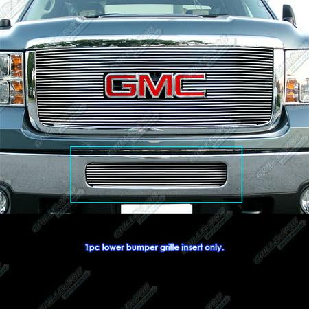 Gmc Sierra Billet Grille Grill - Fits 2011-2014 GMC Sierra 2500HD/3500HD Bumper Billet Grille Grill Insert