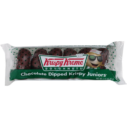 Krispy Kreme Chocolate Dipped Krispy Juniors Doughnuts, 2.9 oz