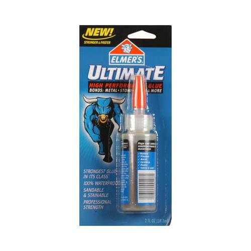 P9406 Ultimate Glue Polyurethane 2 oz Crd Multi-Colored