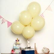 "Efavormart 25PCS 12"" Pastel Round Latex Helium Balloons Matte Color Balloons"