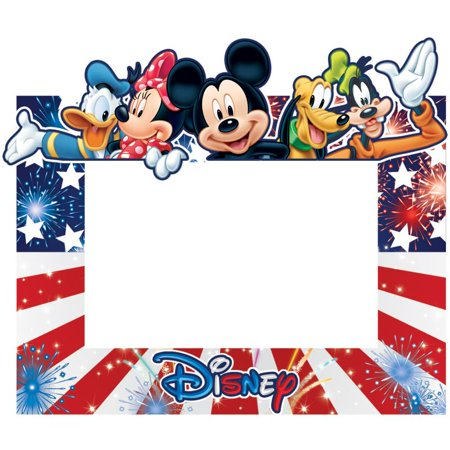 Disney Freedom Group Mickey Minnie Donald Pluto Goofy Picture Frame