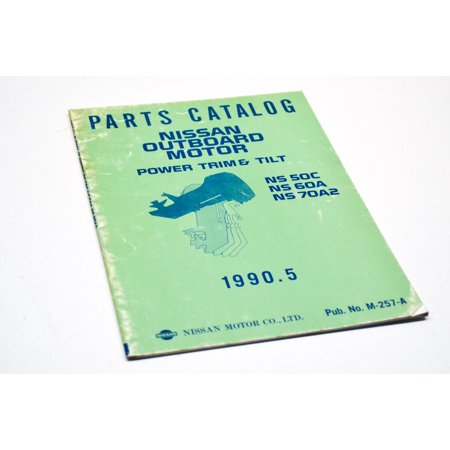 Nissan M-0030800 NS 50C/60A/70A2 Parts Catalog QTY 1 Nissan Oem Parts Catalog