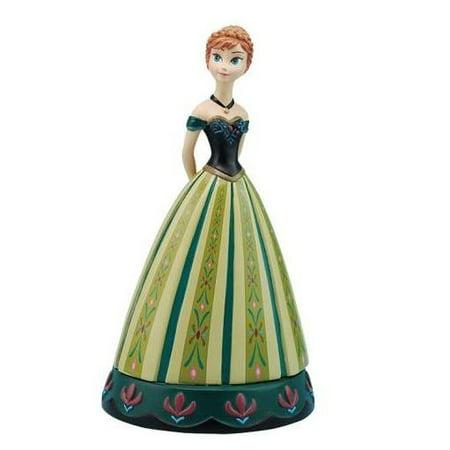 Disney Frozen Princess Anna in Green Ball Gown Collectible Figurine 26426