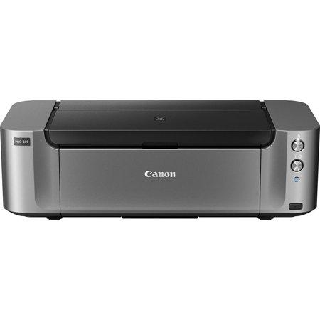 Canon - PIXMA PRO-100 Wireless Inkjet Printer - Black ()
