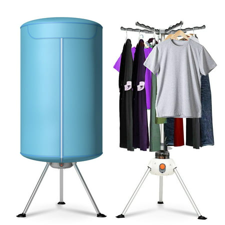 Costway Portable Ventless Laundry Clothes Dryer Folding Drying Machine Heater 900W