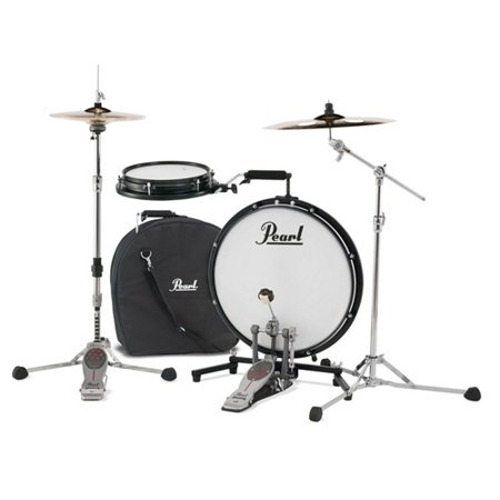 Pearl PCTK1810 Compact Traveler 2-Piece Drum Kit w/ Slim 18