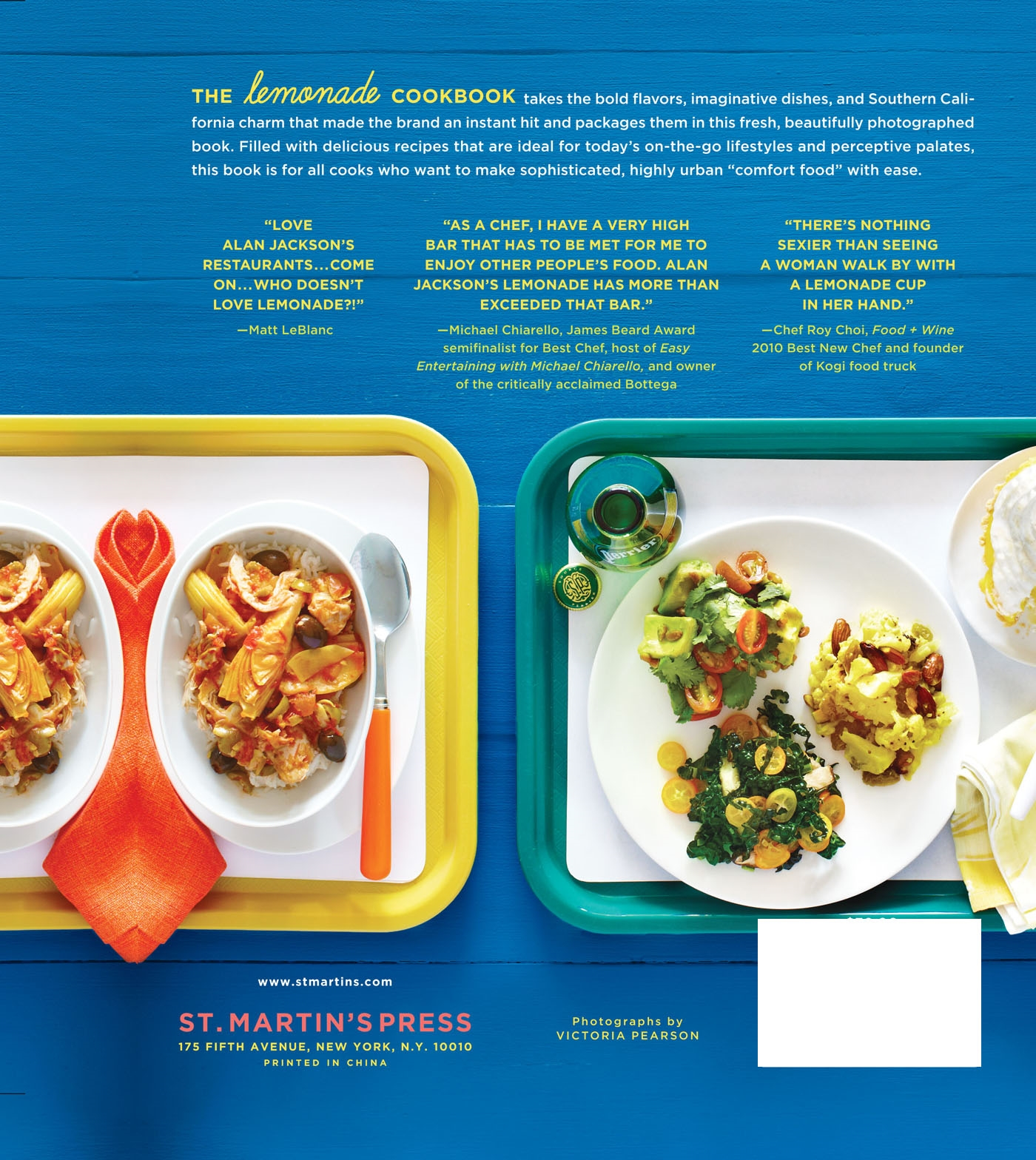The lemonade cookbook southern california comfort food from las the lemonade cookbook southern california comfort food from las favorite modern cafeteria walmart forumfinder Choice Image