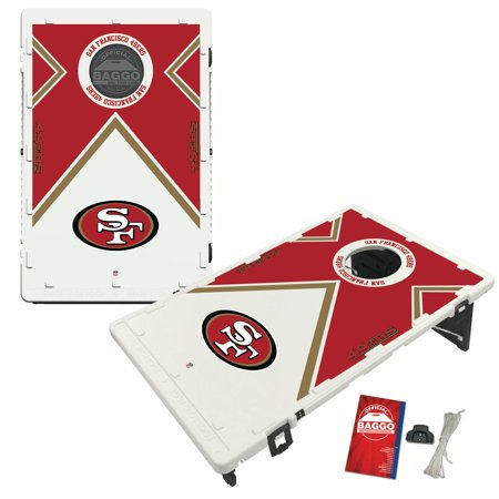 San Francisco 49ers 2 'x 3' Vintage Design BAGGO Bean Bag Toss Game - No Size Baggo Bean Bag Game
