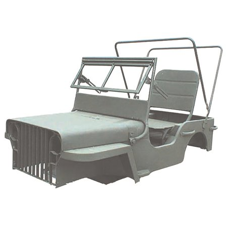 Omix-Ada 12001.01 Mini Jeep MB Body Kit - Walmart.com