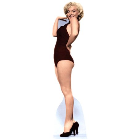Marilyn Monroe - Burgundy Bathing Suit - Life-Size Cardboard Stand-Up - image 1 de 1