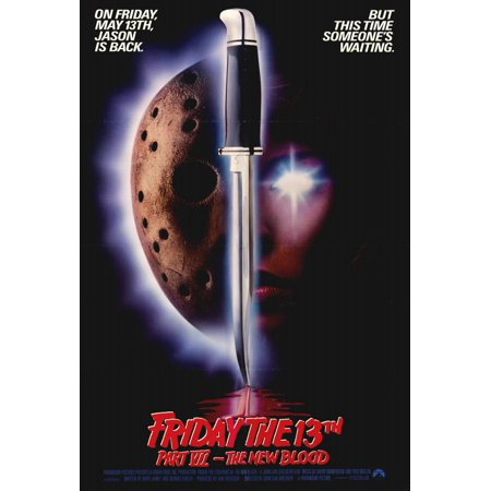 Friday the 13th Part 7 - The New Blood (1988) 27x40 Movie Poster