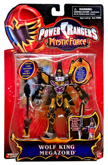 Power Rangers Mystic Force Wolf King Megazord Action Figure by