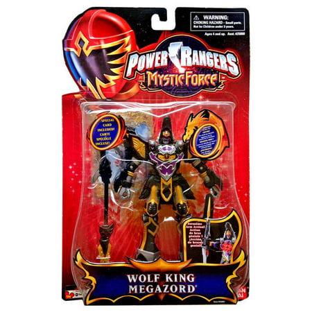 Power Rangers Mystic Force Wolf King Megazord Action Figure - Blue Mystic Ranger